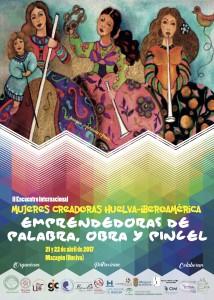 II Congreso Internacional Mujeres Creadoras_Cartel