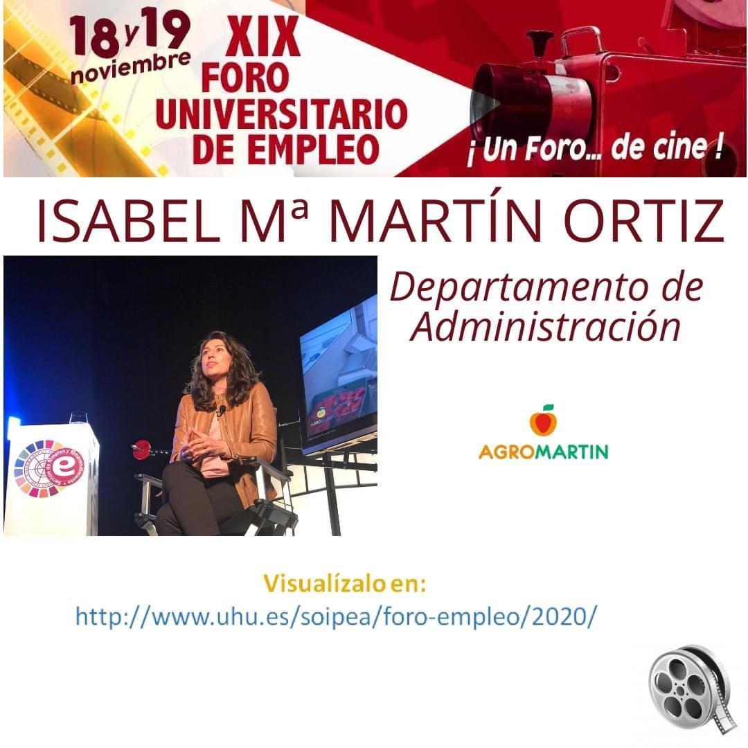 AGROMARTIN PARTICIPA EN EL XIX FORO UNIVERSITARIO DE EMPLEO