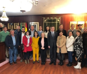 AGRO MARTÍN PRESENT IN THE VISIT TO THE TOWN HALL OF THE GENERAL COUNCIL OF ROMANIA IN ANDALUCIA