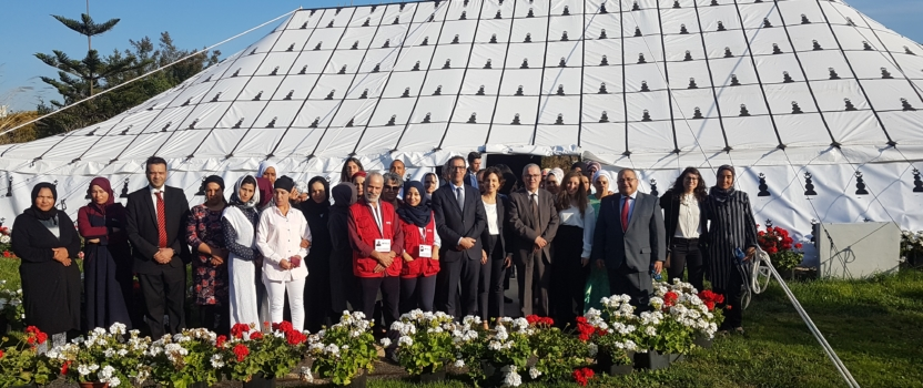 THE MAXIMAL MOROCCAN AUTHORITIES OF MIGRATIONS VISIT AGROMARTIN
