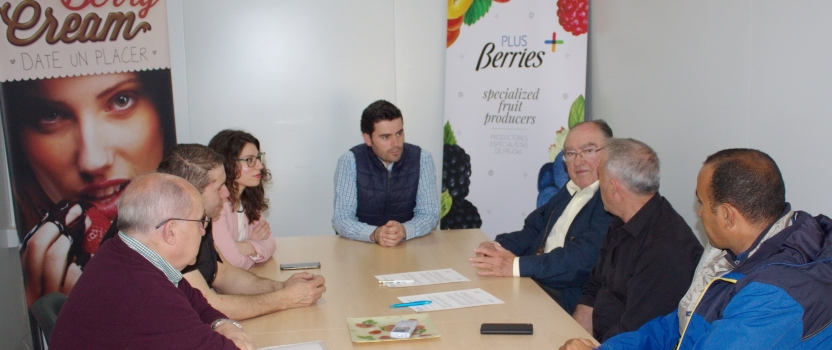 EL BANCO DE ALIMENTOS DE HUELVA Y AGROMARTÍN ACUERDAN LA CESIÓN GRATUITA DE EXCEDENTES AGRÍCOLAS