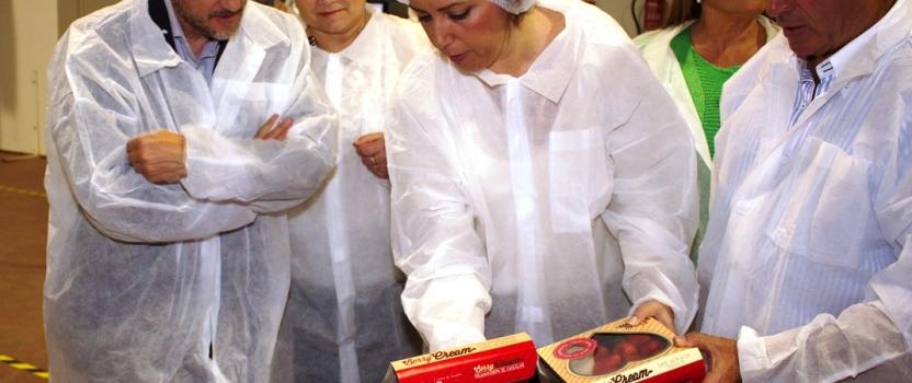 La Presidenta de la Junta Andalucía, Susana Díaz, visita Agro Martín